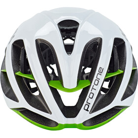 Kask Protone Casque, white/green